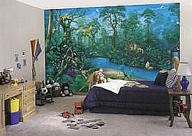 Jungle Dreams Mural C829 by Environmental Graphics