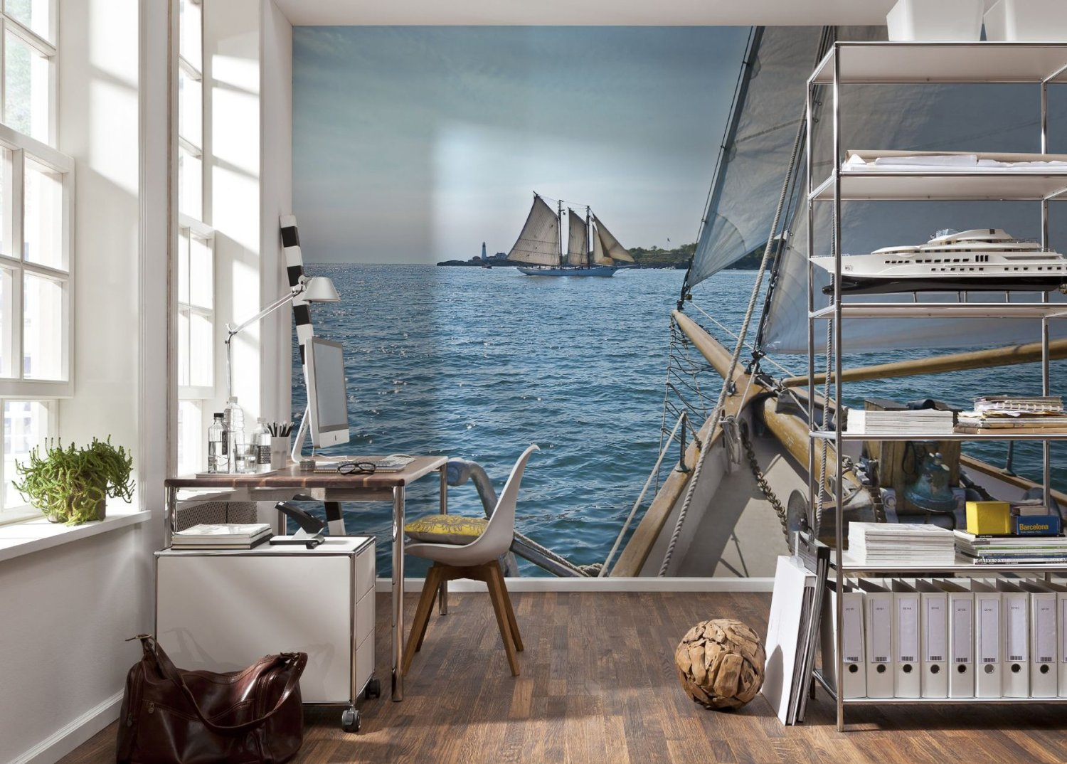 Sailing Wall Mural by Komar 8-526