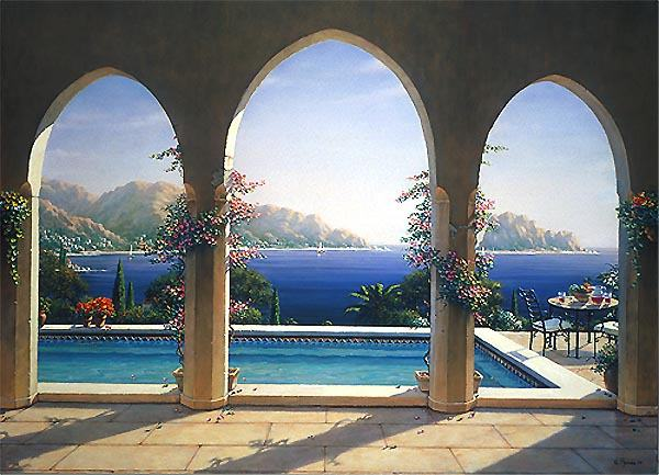Arch De Italiano Mural 3903