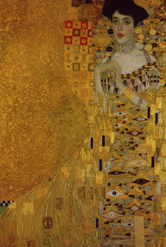 Gustav Klimt Portrait of Adele Bloch-Bauer I Wall Mural