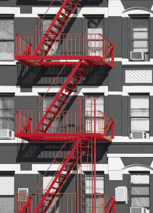 Fire Escape Wall Mural DM432