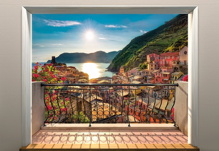 Vernazza Wall Mural 8-988 by Komar