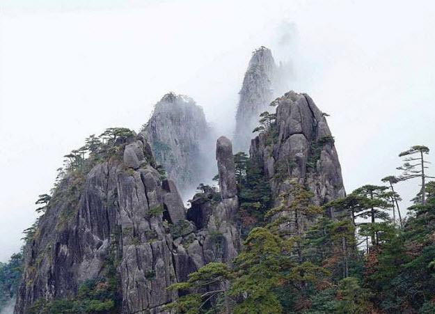 Foggy Mountain China
