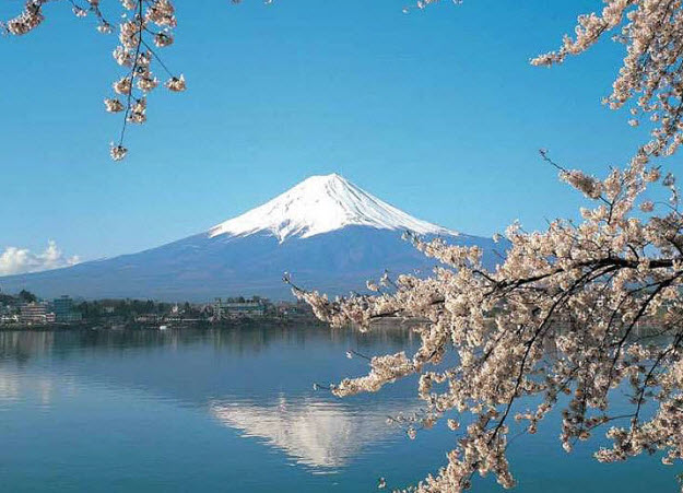 Mt Fuji Japan DS8075