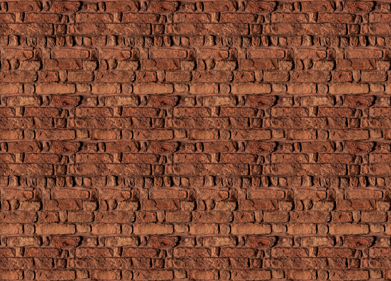 Red Brick Wall Wall Mural DS8094 (Repeating Pattern)