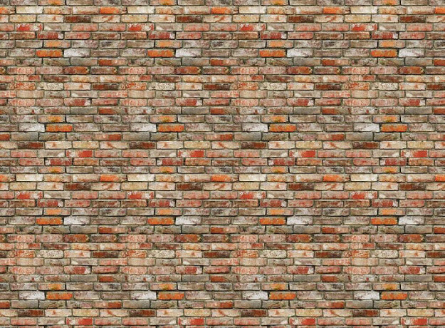 Backstein Brick Wall Wall Mural DS8096 (Repeating Pattern)