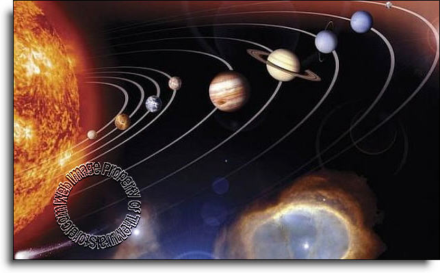 Great Solar System Mural C833 Part 4