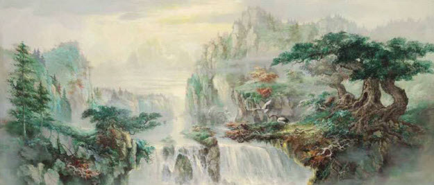Shangrila Wall Mural DS6009