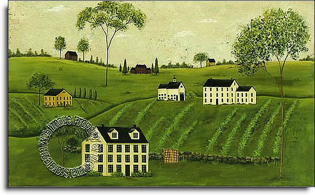 Countryside fk3989m wall mural for Countryside wallpaper for walls
