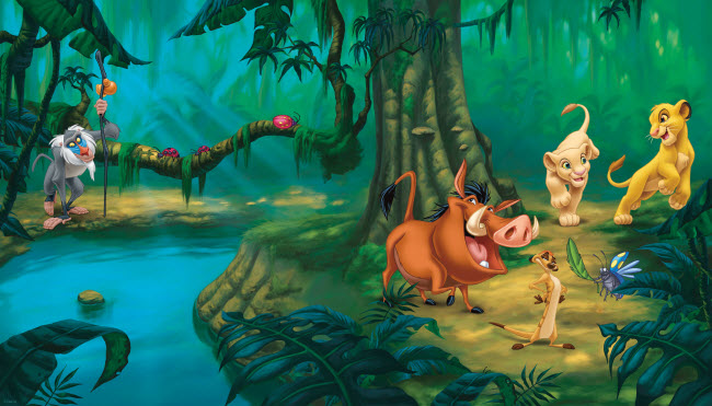 The Lion King Wall Mural
