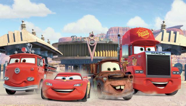 DISNEY CARS FRIENDS FINISH MURAL