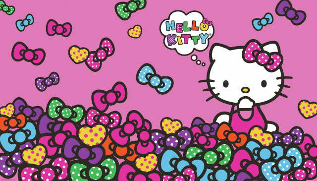 HELLO KITTY BOW-TASTIC XL MURAL