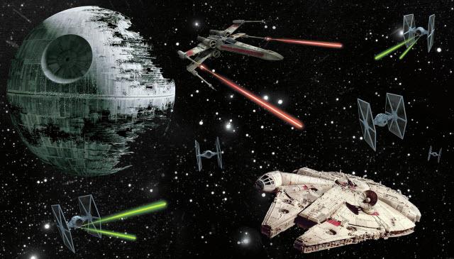 STAR WARS VEHICLES XL MURAL
