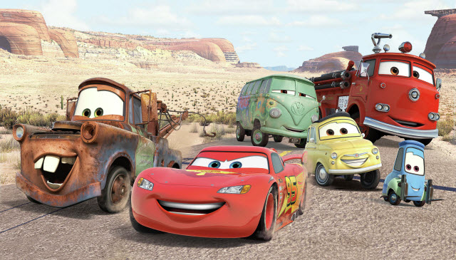 DISNEY CARS DESERT XL MURAL