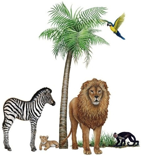 Jungle Wildlife Collection #3