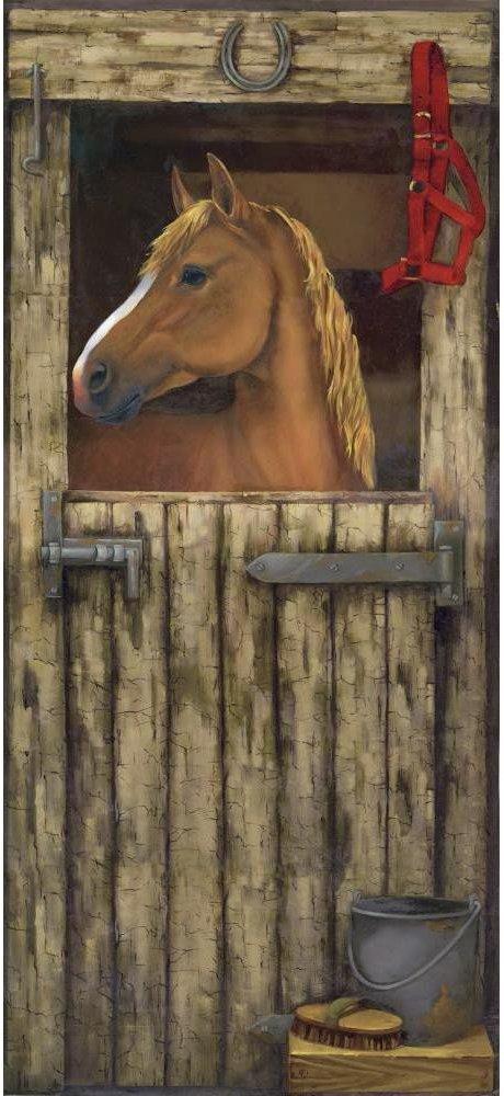 Horse Stable Door Mural MP4966M