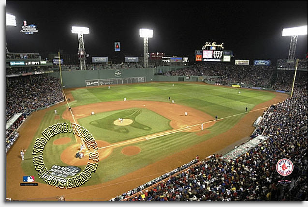 Nice Boston Red Sox/Fenway Park Mural MSMLB BRS CNS12004S Part 27