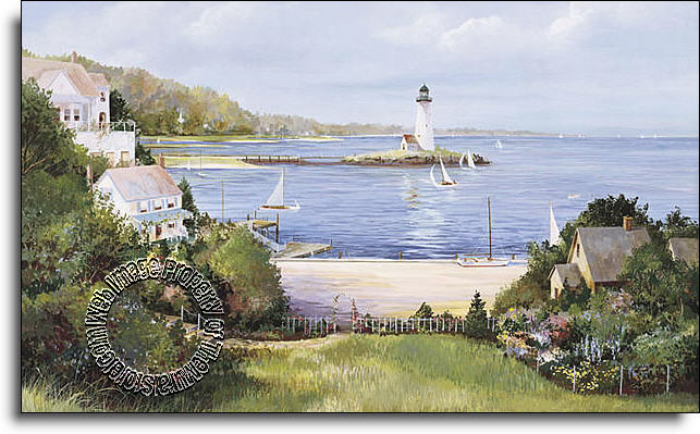 Lighthouse cove c823 wall mural for Environmental graphics giant world map wall mural