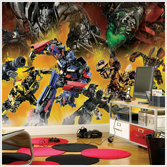 Transformers: Revenge of the Fallen Mural JL1174M by York Roommates