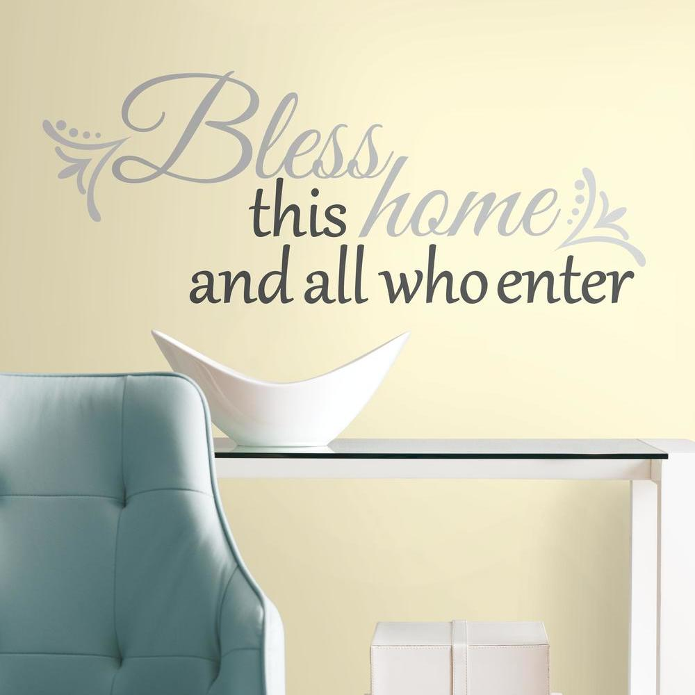 RMK2179SCS_Bless%20this%20Home%20Wall%20