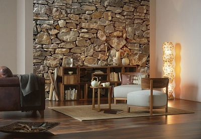Stone Wall Mural 8 727 by Komar Full Size Large Wall Murals The