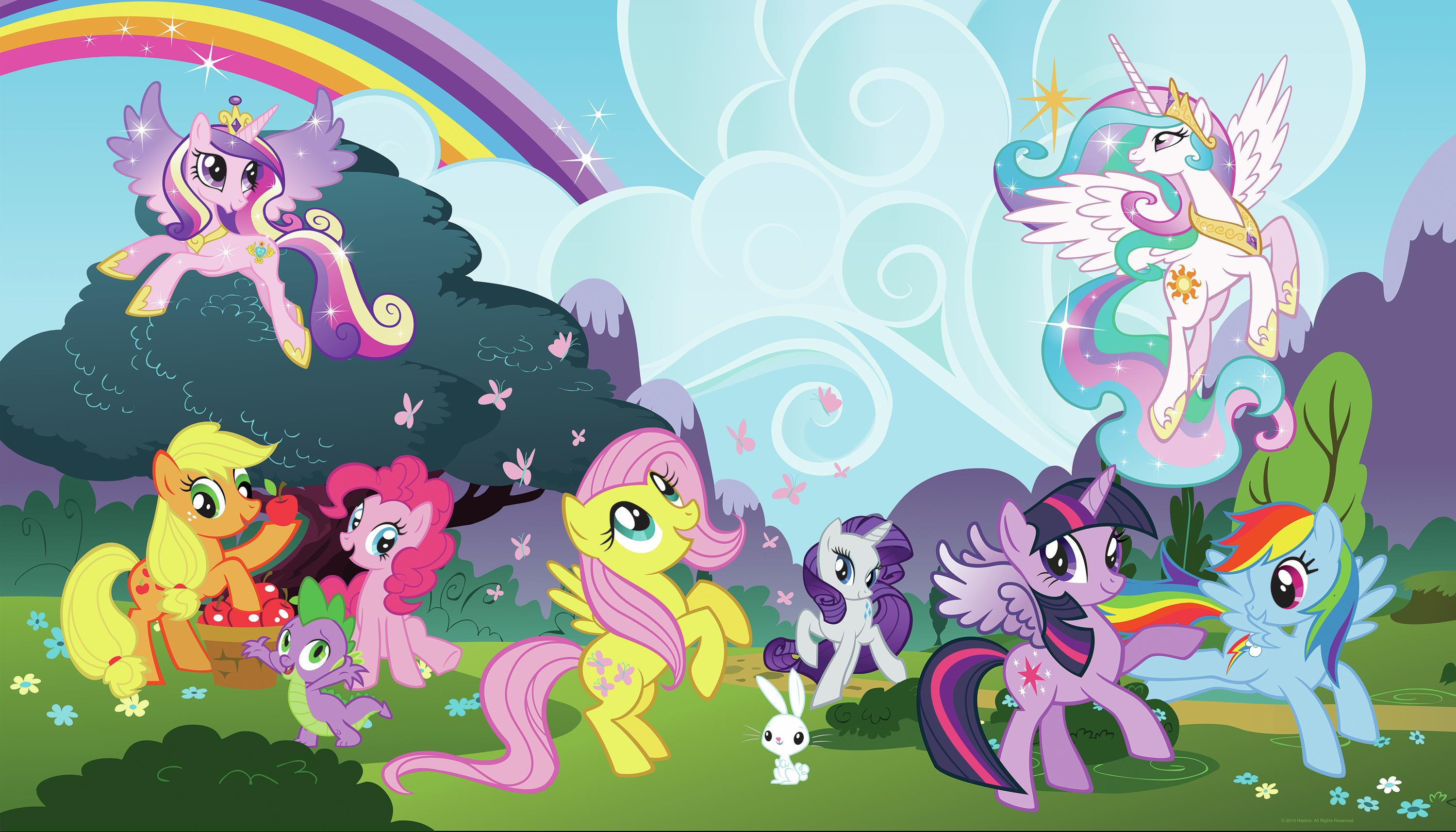 MY LITTLE PONY PONYVILLE MURAL