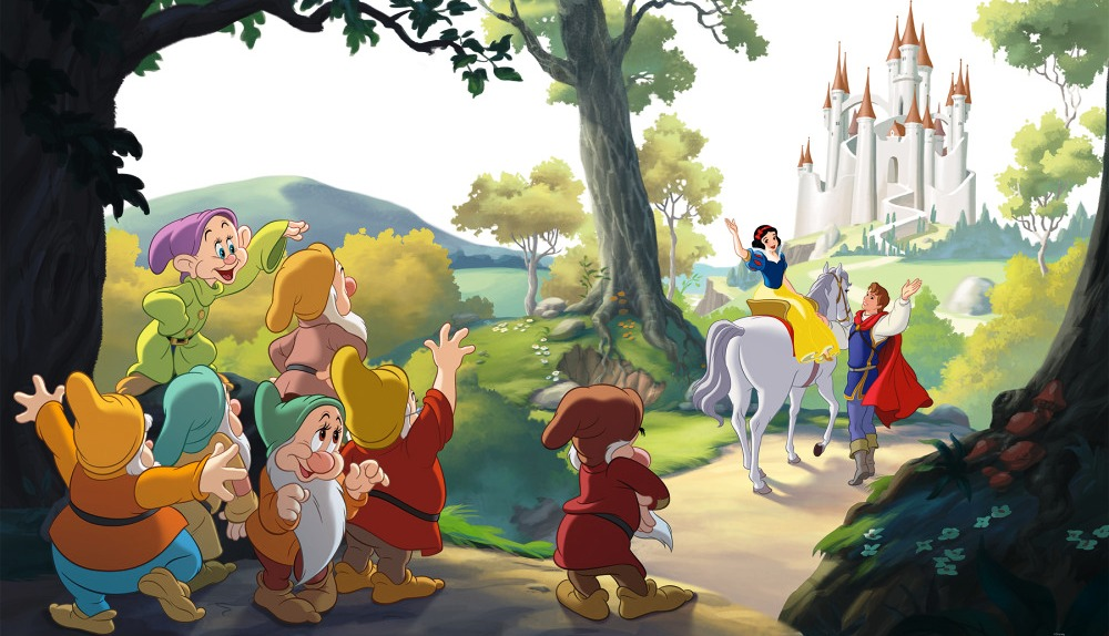 SNOW WHITE HAPPILY EVER AFTER