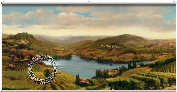 Provence Vineyard Minute Mural 121728