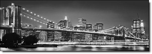 Brooklyn Bridge New York wall Mural 4 320 by Komar Mid size Wall