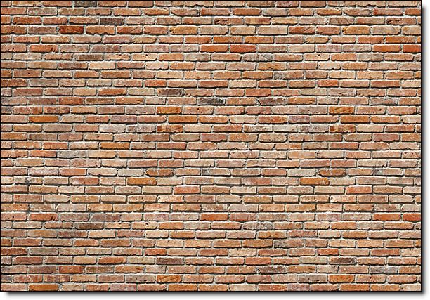 Brick Wall Mural 8 741 by Komar Full Size Large Wall Murals The