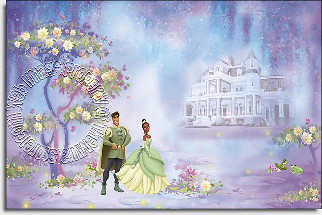 Disney The Princess and The Frog Wall Mural by Roommates