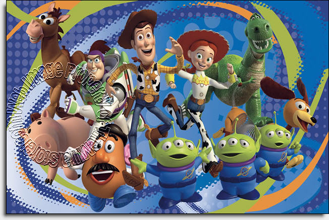 Disney Toy Story 3 Wall Mural by Roommates