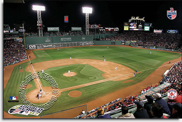 Boston Red Sox/Fenway Park Mural MSMLB-BRS-CNS12007S