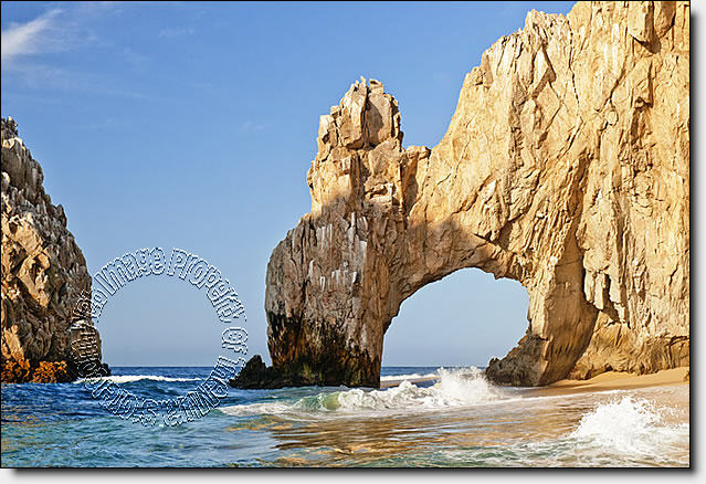 Cabo San Lucas Peel & Stick Canvas Wall Mural