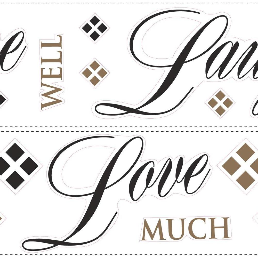 Live Love Laugh L Stick Wall Decals
