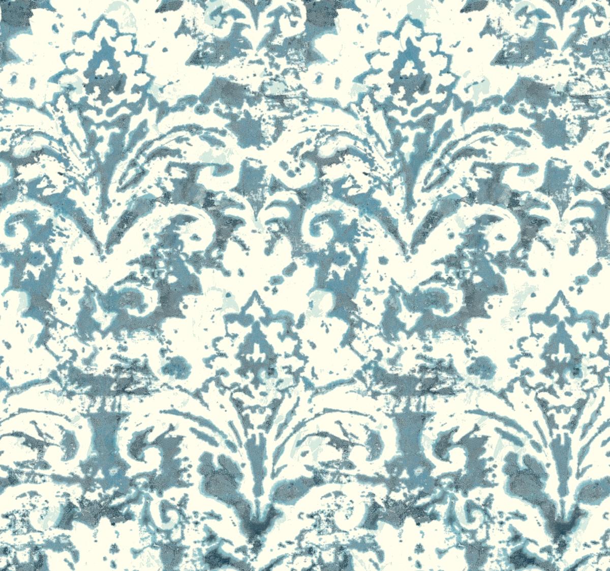 Batik Damask Removable Wallpaper