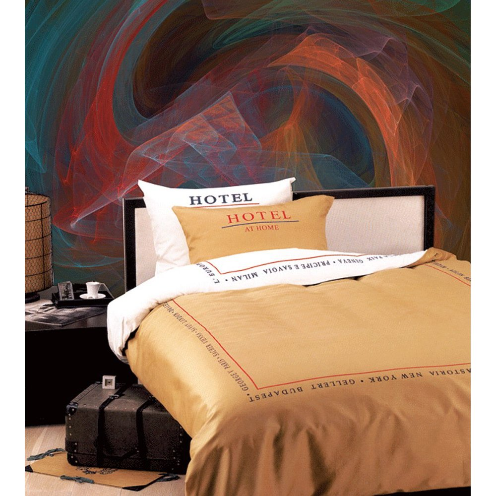 IRIDESCENT SMOKE Paste the Wall Mural by Brewster 99092