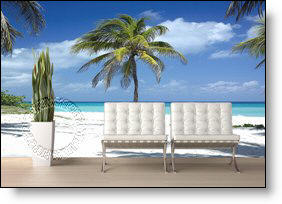Twisted Palm Wall Mural