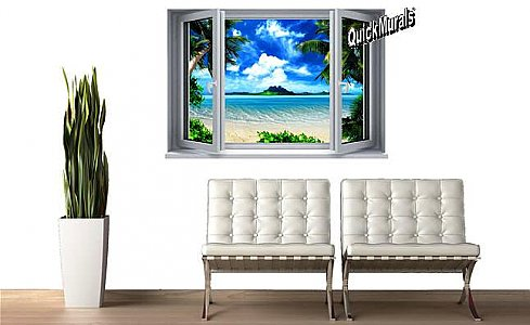 Instant Window Murals