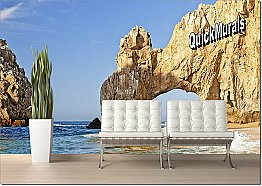 Cabo San Lucas Peel & Stick Canvas Wall Mural by QuickMurals