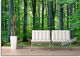 Woodland Forest Peel & Stick Canvas Wall Mural