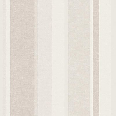 Raya Grey Linen Stripe Wallpaper