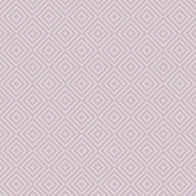 Metropolitan Lavender Geometric Diamond Wallpaper