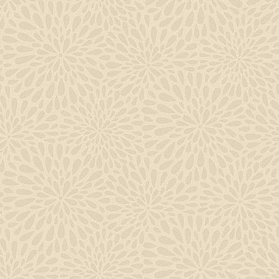 Calendula Grey Modern Floral Wallpaper