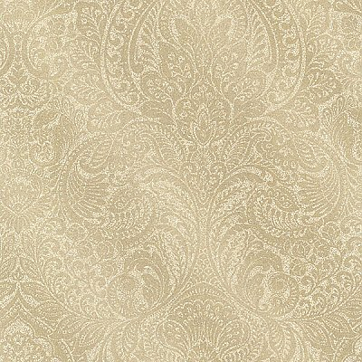 Alistair Gold Damask Wallpaper