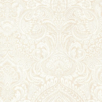 Alistair Cream Damask Wallpaper
