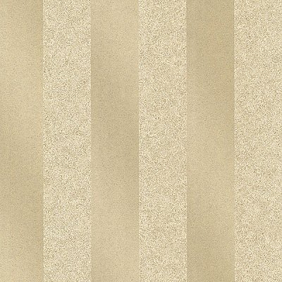 Magnus Gold Paisely Stripe Wallpaper