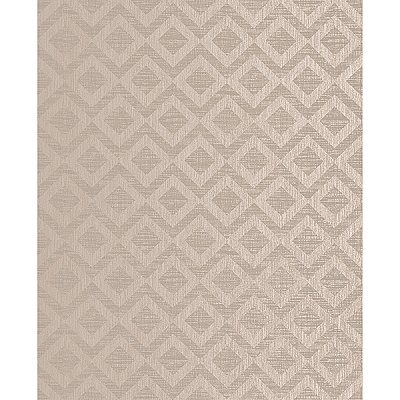 Cadenza Brown Geometric Wallpaper
