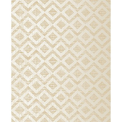 Cadenza Gold Geometric Wallpaper