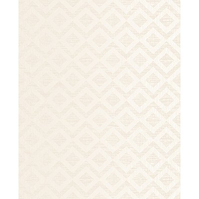 Cadenza Cream Geometric Wallpaper